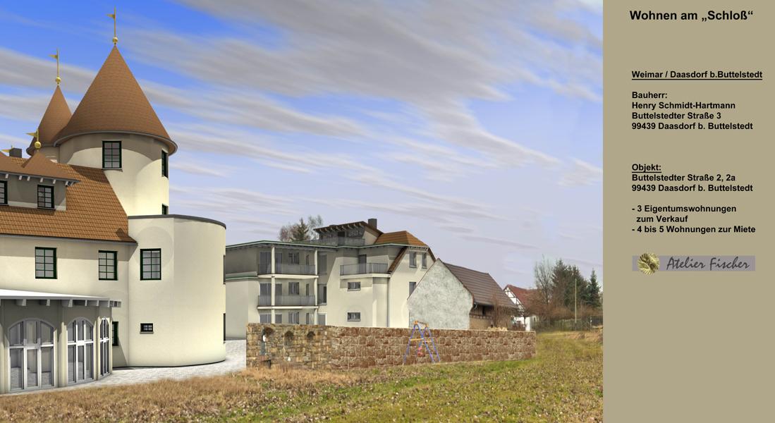 Neubau und Sanierung von Wohnungen / Weimar