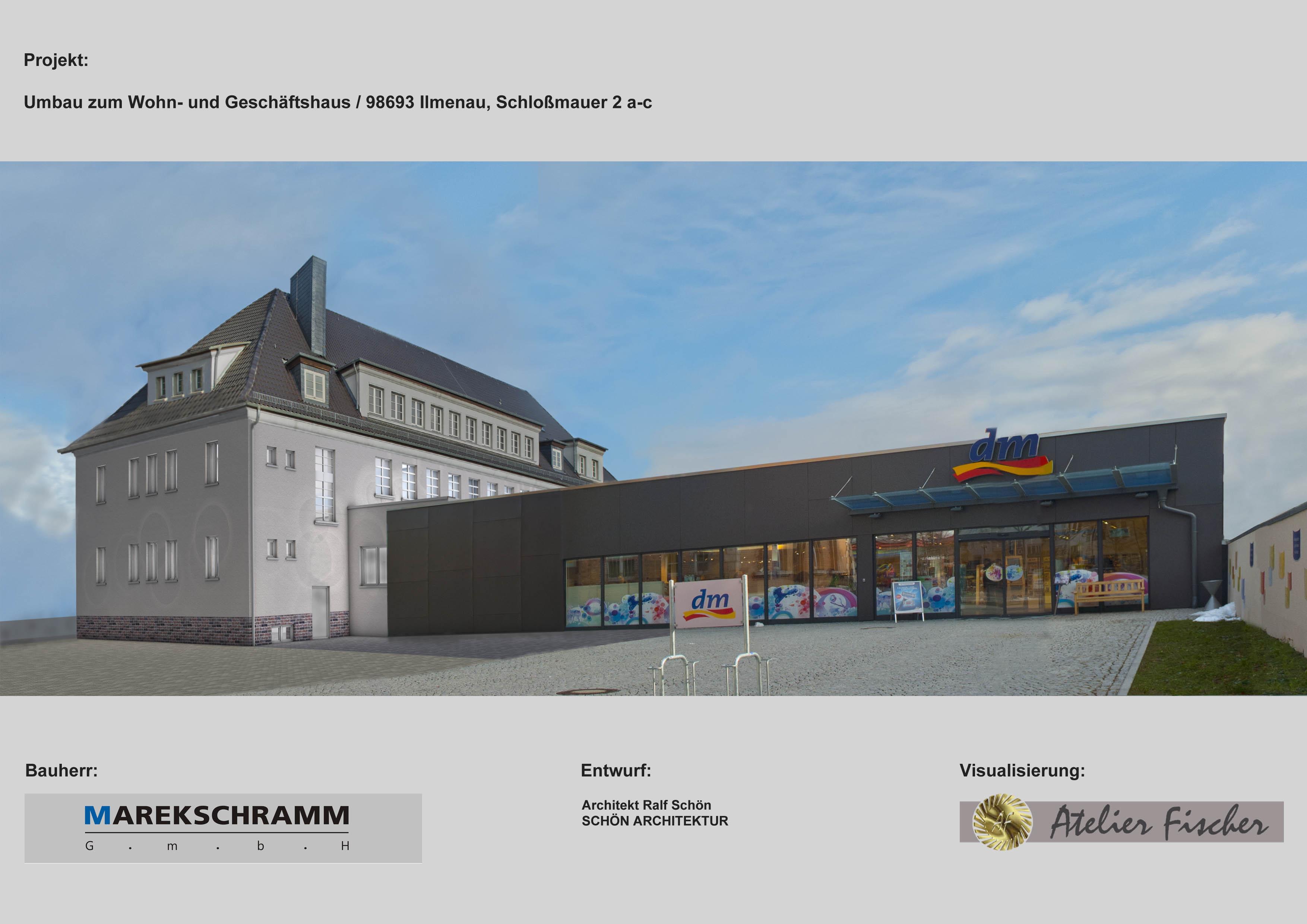 Umbau zum Wohn- und Geschäftshaus / Ilmenau